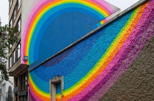 I murales ipnotici e colorati di Jan Kaláb