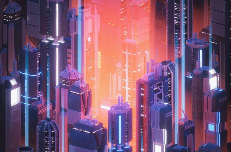 Neon Dreams by Dreamfibre aka Andrew Morgan