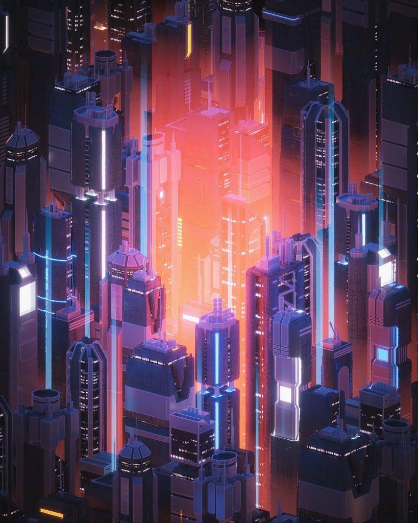 I sogni al neon di dreamfibre aka Andrew Morgan | Collater.al