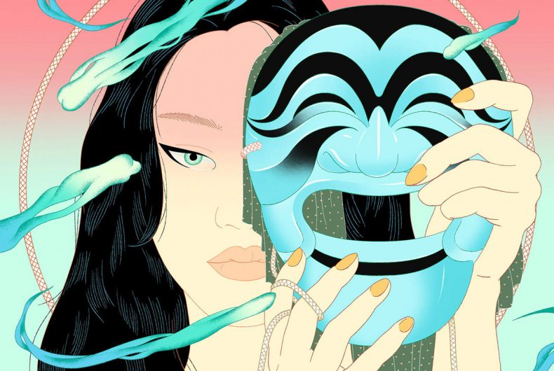 The dynamism in Jee-ook Choi's illustrations