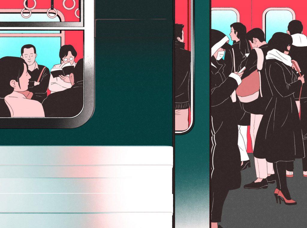 Il dinamismo nelle illustrazioni di Jee-ook Choi | Collater.al