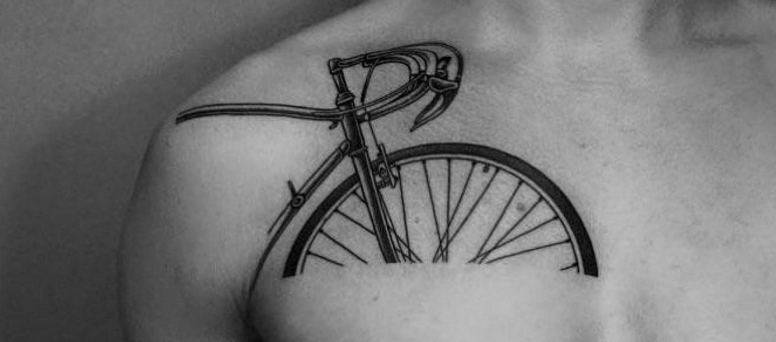 Pointillism and Surrealism merges into Ilya Brezinski's tattoos