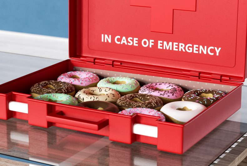 In Case of Emergency, the emergency equipment according to Ben Fearnley