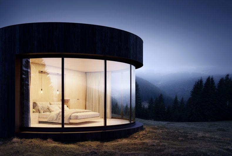 LUMIPOD, la cabina che ristabilisce il legame tra uomo e natura