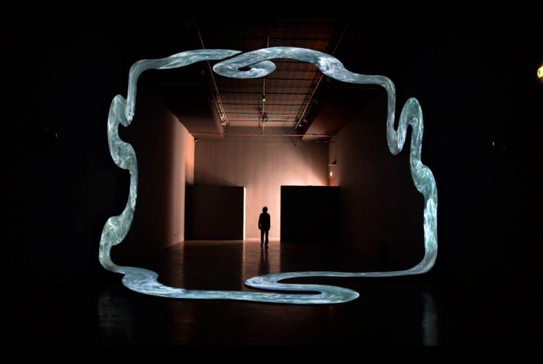Lupanar, l'infinito nell'installazione di Nicolas Tourte