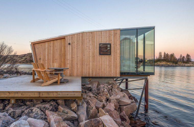 Manshausen Sea Cabin, un resort tra il mare e l'aurora boreale