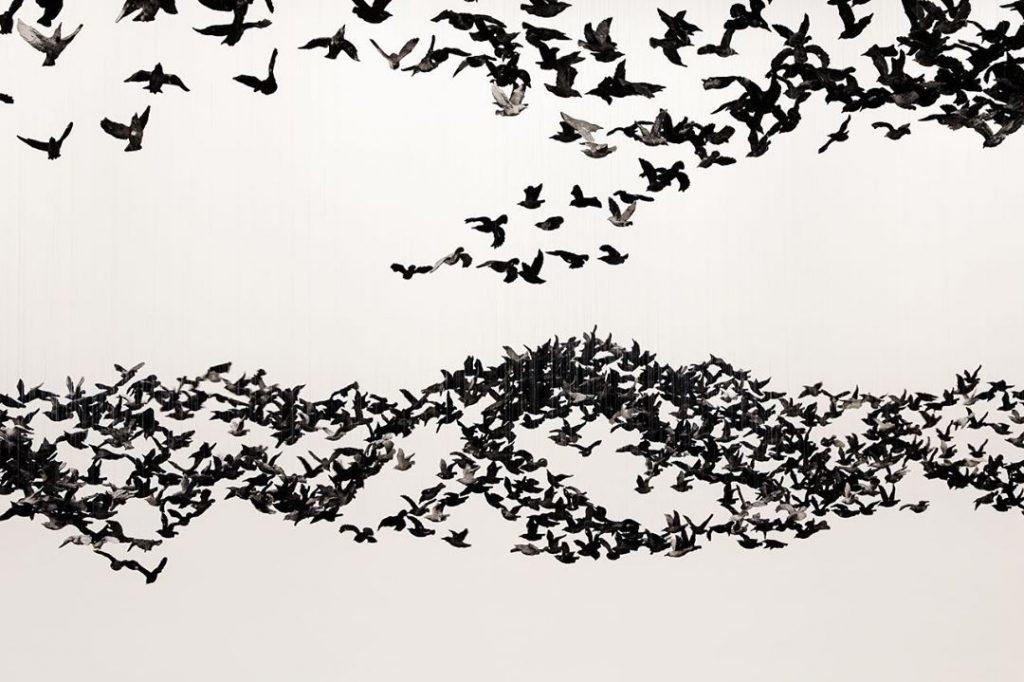 Murmuration Landscape Cai Guo Qiang   Collater.al