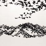 Murmuration Landscape Cai Guo Qiang | Collater.al 7