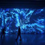 Pixel Noir Lumière, l'ultima installazione di Miguel Chevalier | Collater.al 4