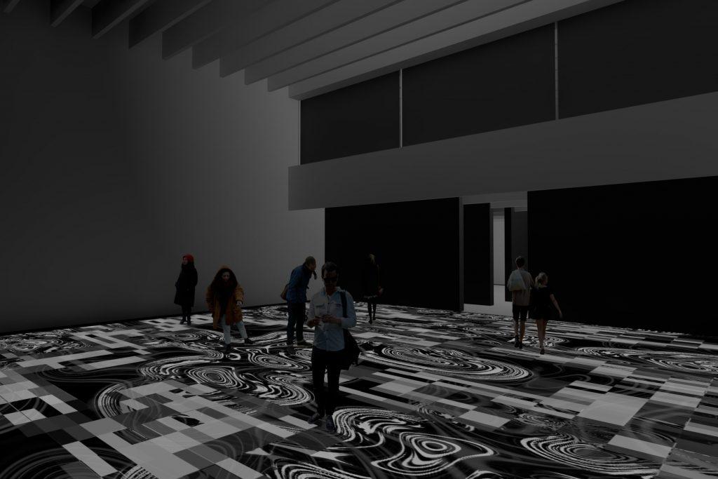 Pixel Noir Lumière The Latest Installation By Miguel