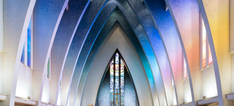 """La chiesa si fa moderna nella serie di scatti """"Sacred Spaces"""""""