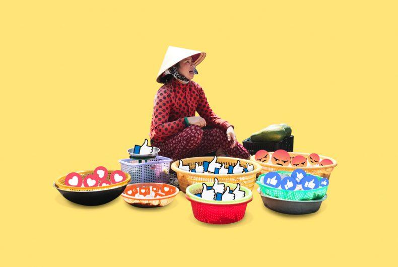 Emoji invade Saigon Emoji's graphics