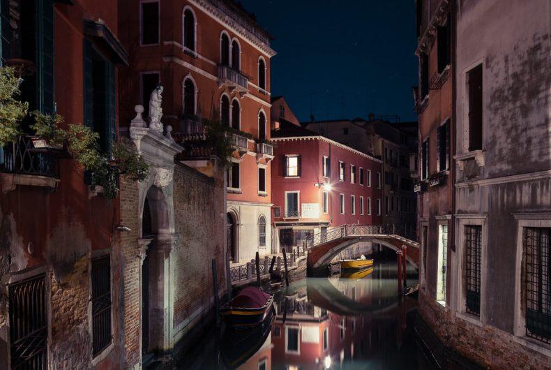 Sleeping Venice, quando di notte Venezia si svuota