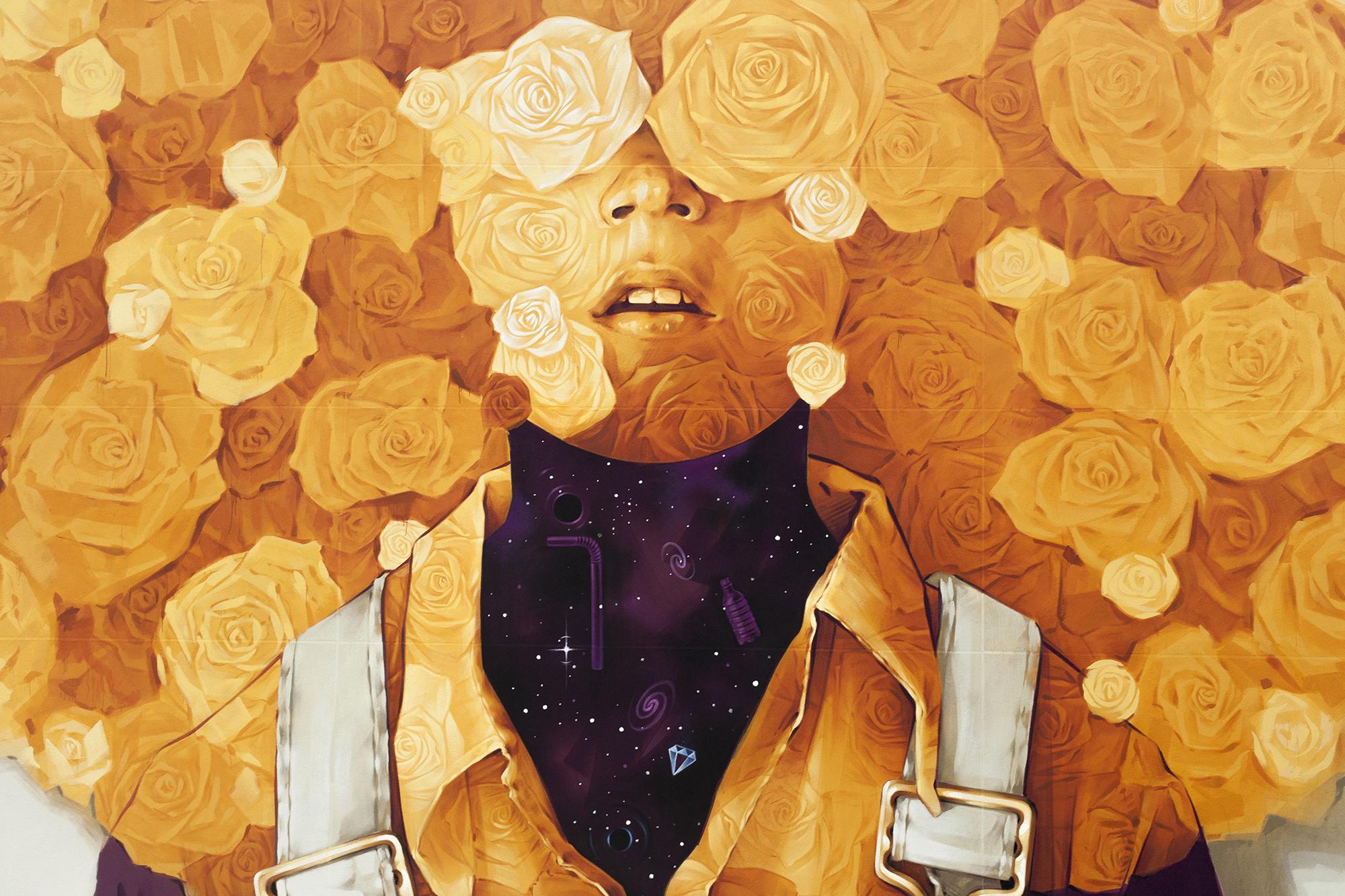 Soleil The New Mural By Inti For Peinture Fraiche Festival