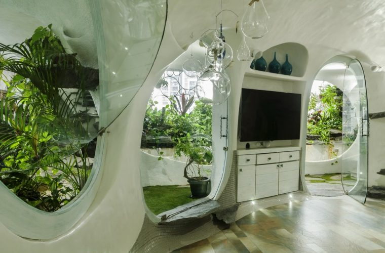 The Garden Room, where there are no boundaries between nature and architecture