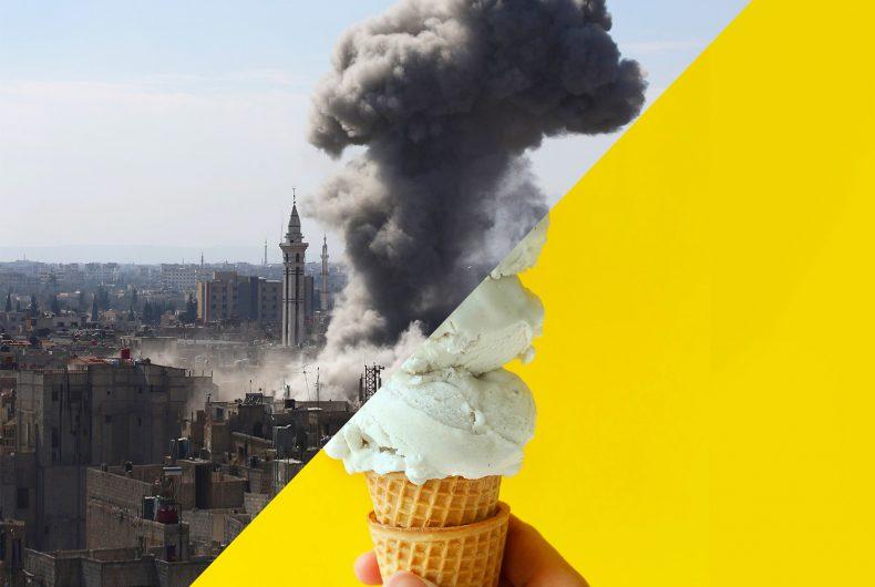 Uğur Gallenkuş racconta la guerra con il nostro immaginario