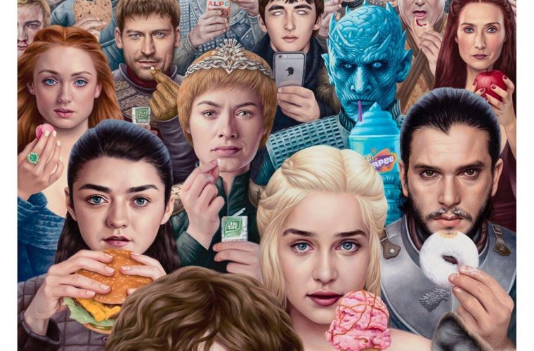 I nuovi dipinti surreali e pop di Alex Gross