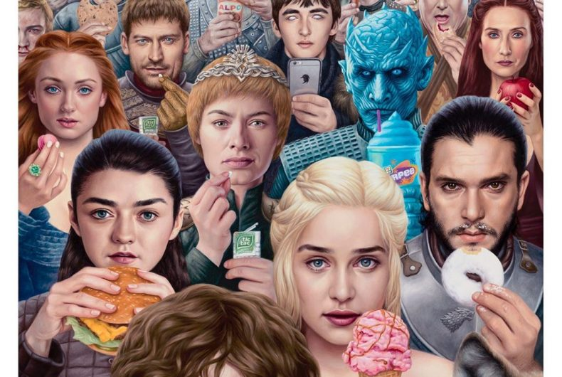 I nuovi dipinti surreali e pop di Alex Gross