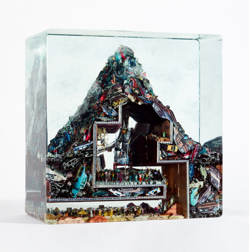 dustin yellin | Collater.al