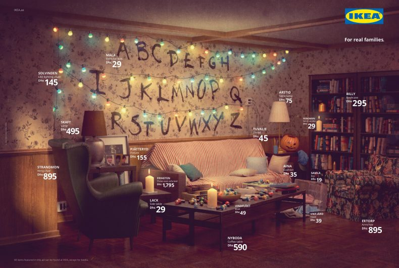 Real Life Series, IKEA turns your home into a TV series home