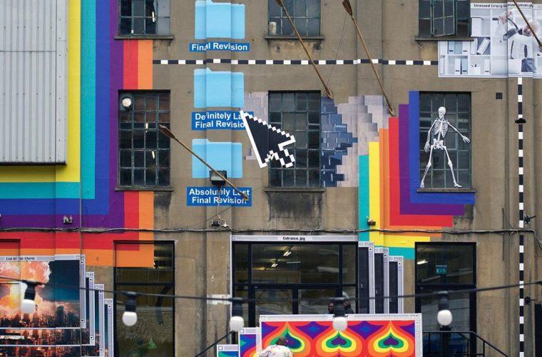 La street art di INSA, visibile solo on-line
