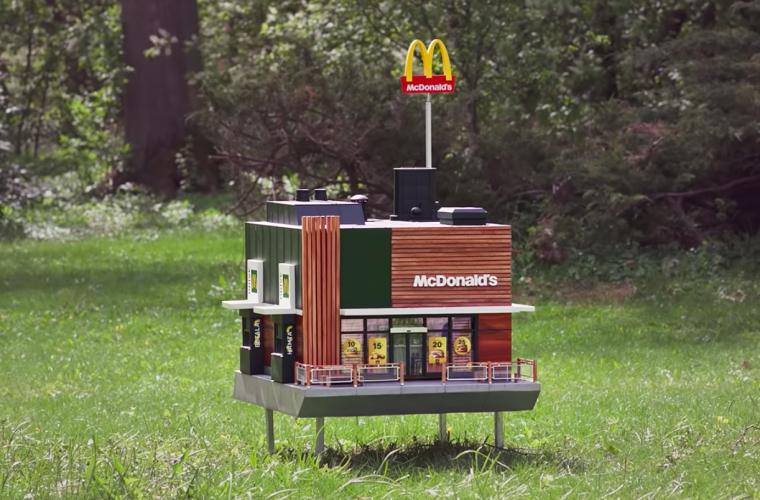 Ha aperto il McDonald's più piccolo al mondo e si chiama McHive