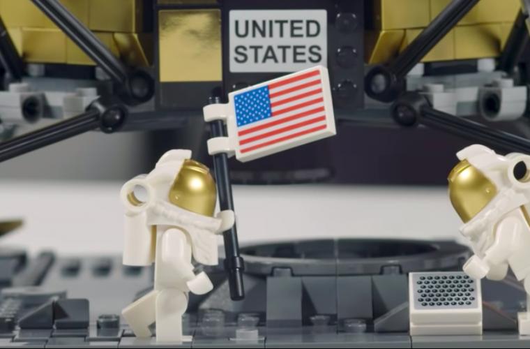 LEGO celebra i 50 anni dallo sbarco sulla Luna con NASA Apollo 11 Lunar Lander
