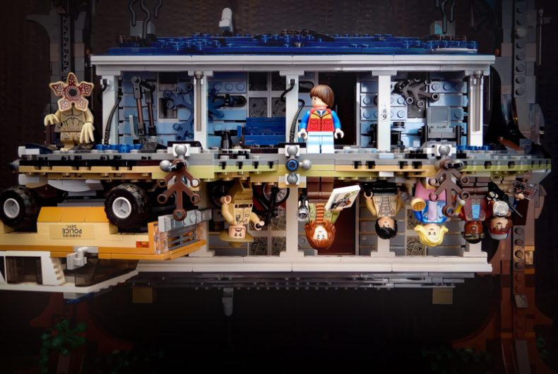 The Upside Down, here the LEGO set inspired by Stranger Things