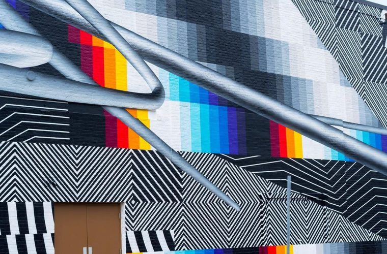 Optichromie, Felipe Pantone's new and monumental work