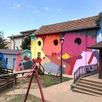 5 Torri di Pace, il murale di Massimo Sirelli   Collater.al 1