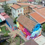 5 Torri di Pace, il murale di Massimo Sirelli   Collater.al 16