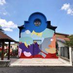 5 Torri di Pace, il murale di Massimo Sirelli   Collater.al