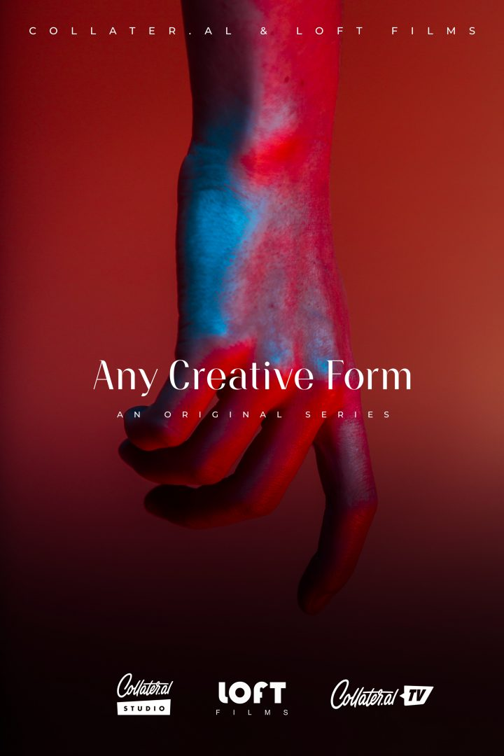 Any Creative Form, our first docu-series now on Collater.al TV