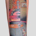 Brindi il tatuatore che mescola cultura giapponese a cultura moderna Collateral 1
