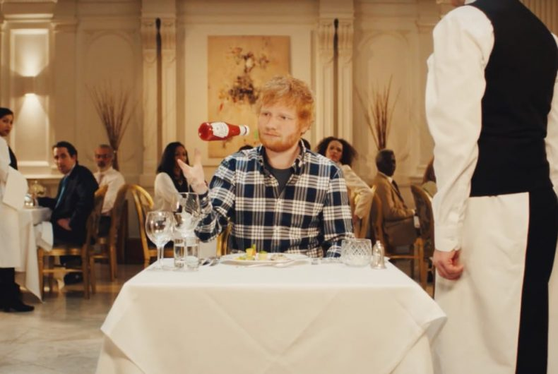 Ed Sheeran stars in Heinz Ketchup's new commercial