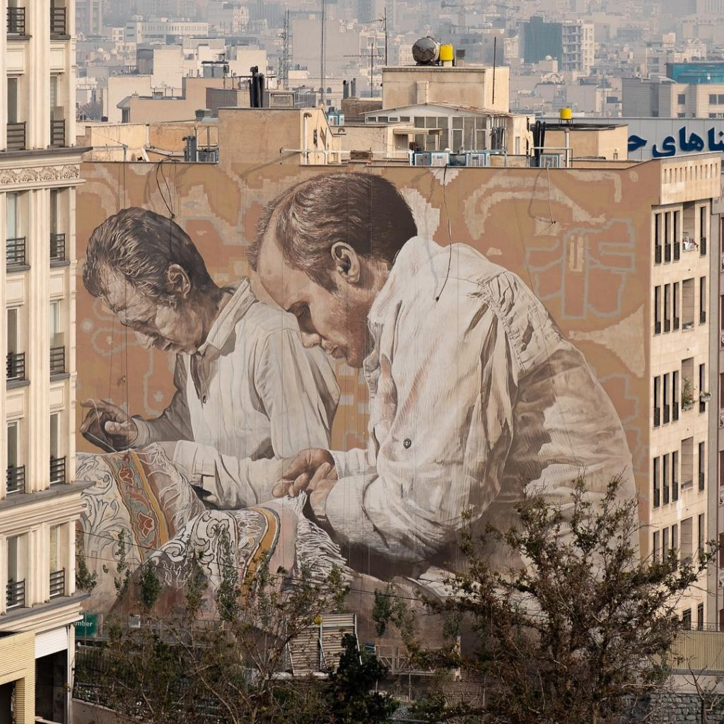 Fintan Magee, murales spettacolari ed iperrealistici | Collater.al