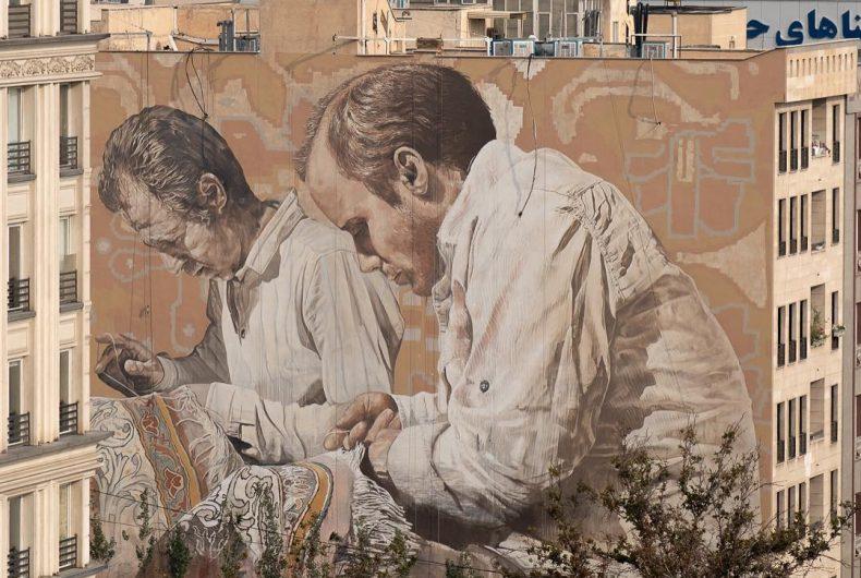 Fintan Magee, murales spettacolari ed iperrealistici