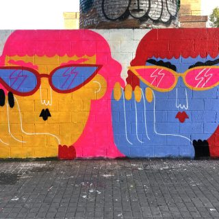 I gioiosi murales di Emily Eldridge scacciano la noia | Collater.al