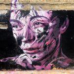 I ritratti astratti nella street art di Hopare | Collater.al 1