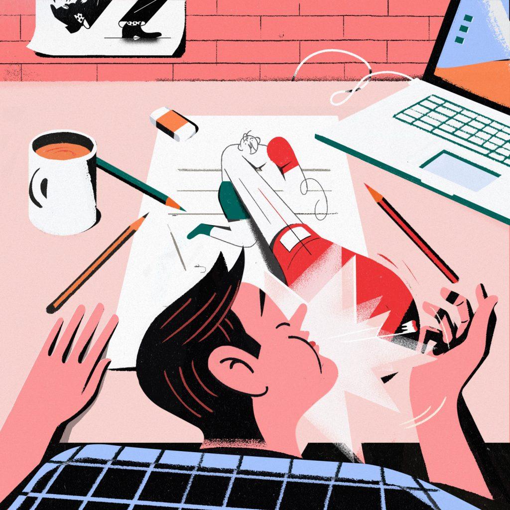 Illustrated Interview Antonio Sortino | Collater.al 4