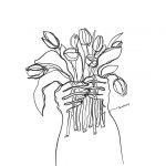 Kuralay-Meirbekova-l'artista-dei-disegni-a-linea-continua-Collater.al-5