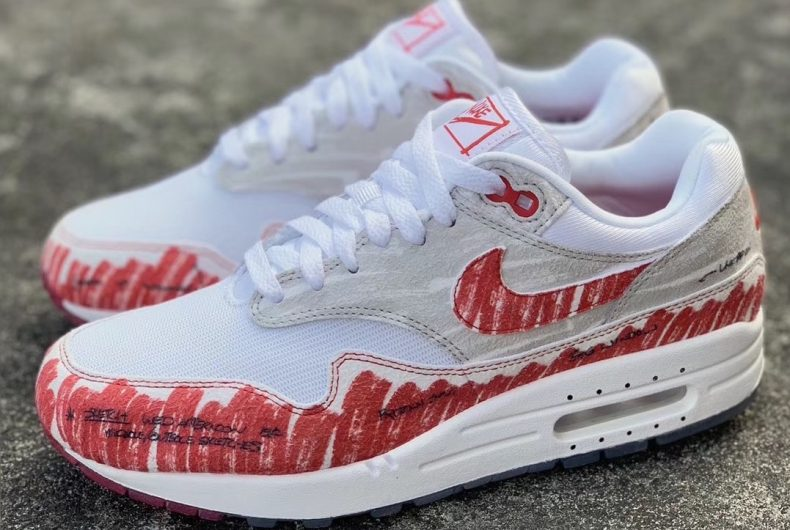 The new Air Max 1, from a paper sketch to real life