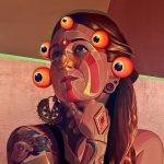 Leggende e folklore si fondono nella nella street art di Gleo | Collater.al 2