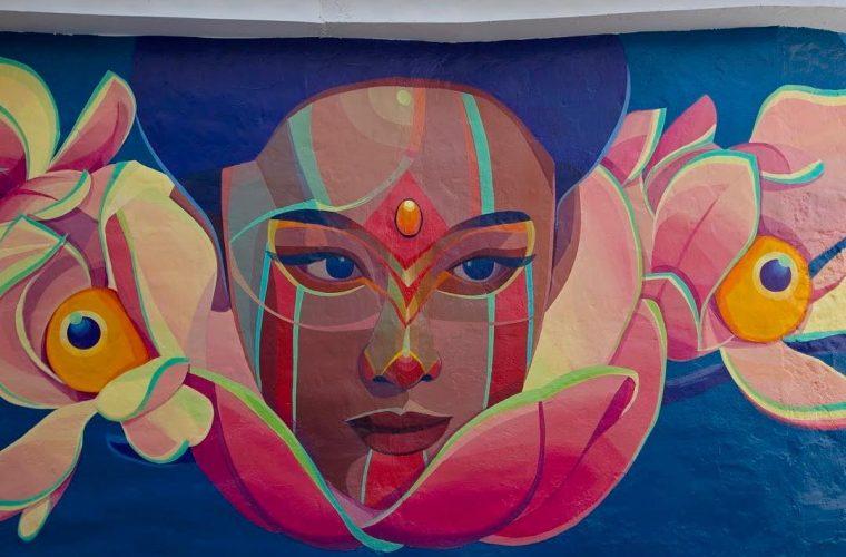 Leggende e folklore si fondono nella street art di Gleo
