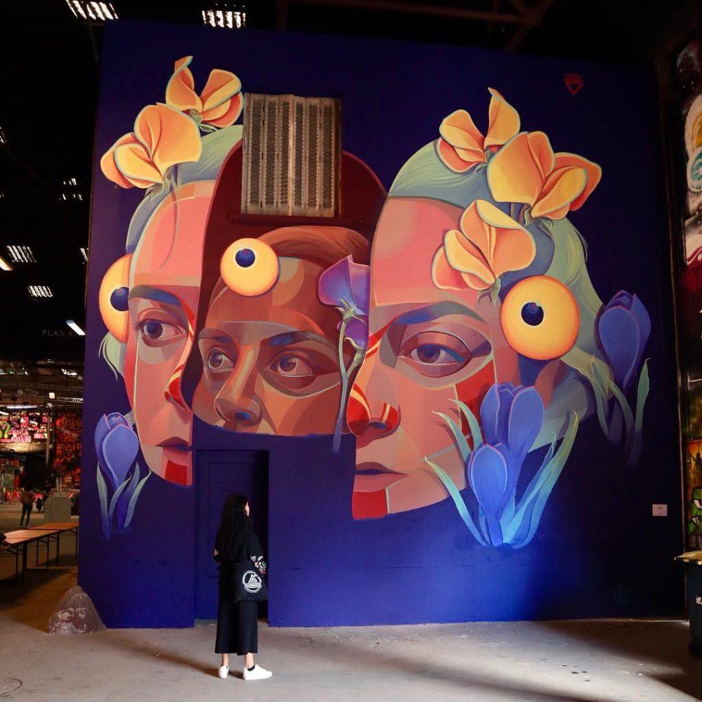Leggende e folklore si fondono nella nella street art di Gleo | Collater.al