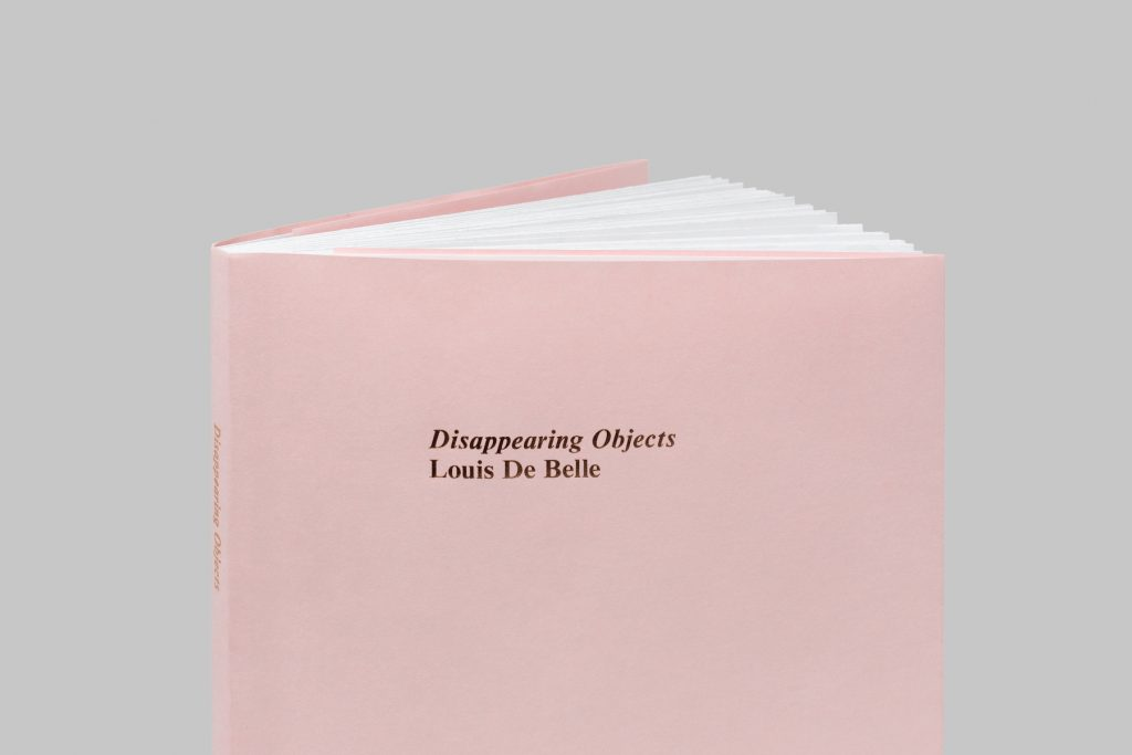 Louis De Belle Disappearing Objects | Collater.al