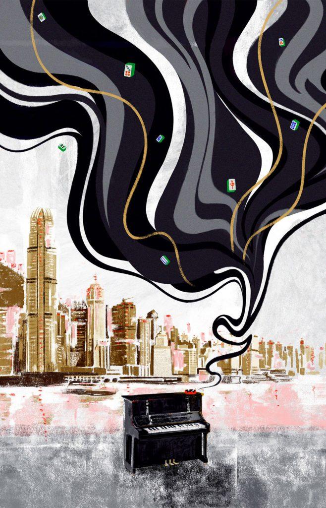 L'universo parallelo nelle illustrazioni di Jeremy Leung | Collater.al