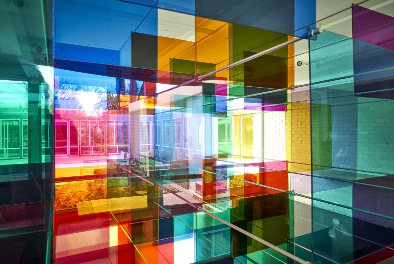 Parallel Perspectives, l'installazione caleidoscopica di Luftwerk