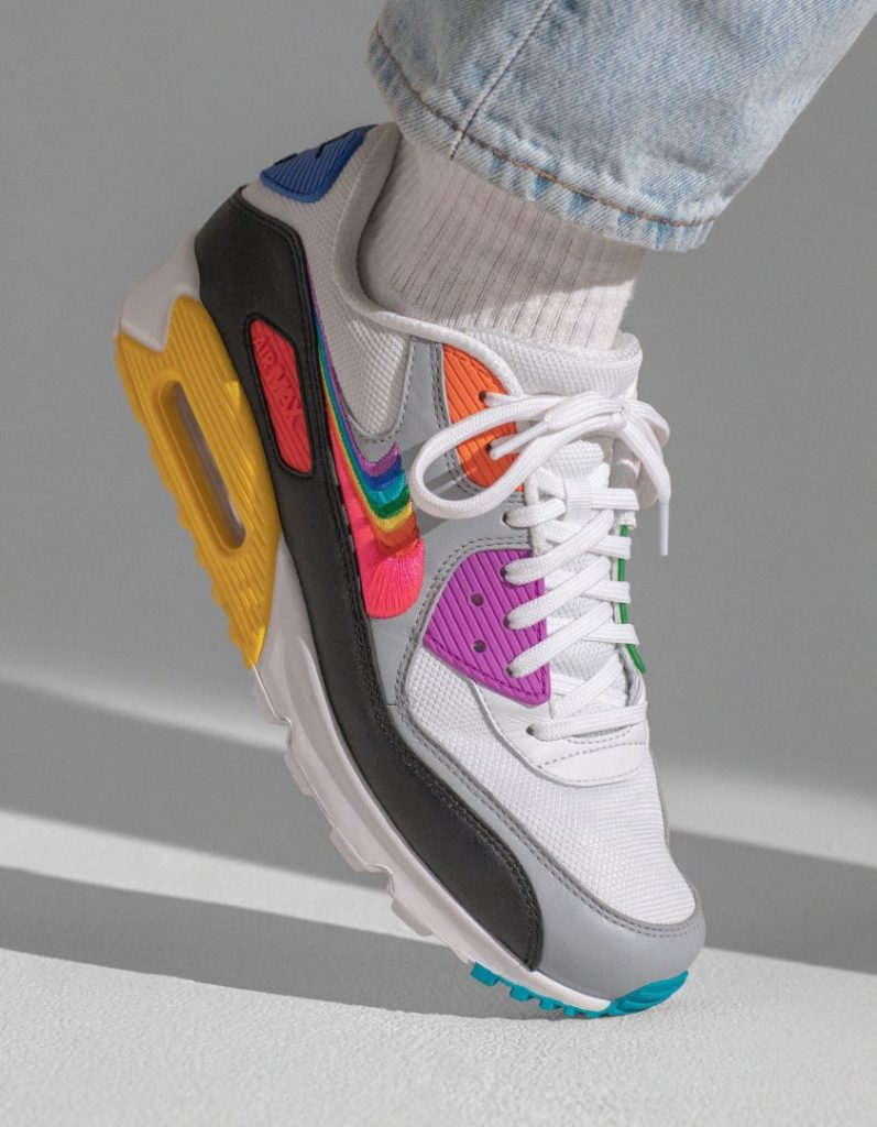 07210df94c ... Tailwind 79, the Air Max 90, the Zoom Pegasus Turbo and the slippers  Benassi JDI. Nike also provides financial support to 20 LGBTQ+  organizations, ...