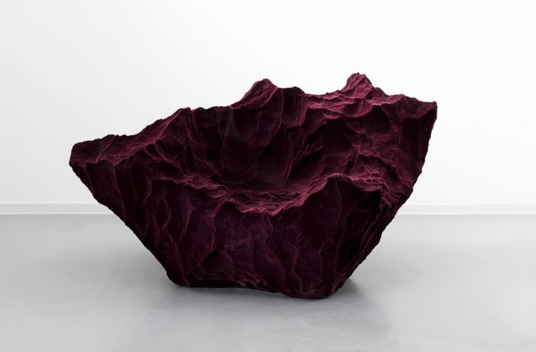 Species, sofas that look like rocks by Fredrikson Stallard
